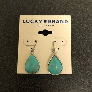 Lucky Brand turquoise earring